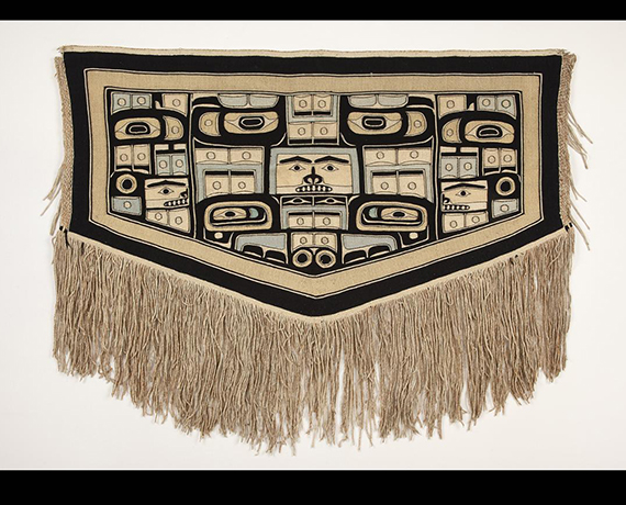 Tlingit Chilkat blanket from the Fowler Museum at UCLA